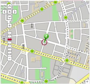 Ihr Weg zur Fachanwältin Semra Wangler in Karlsruhe mit öffentlichen Verkehrsmitteln. EFA Elektronische Fahrplanauskunft des Karlsruher Verkehrsverbundes